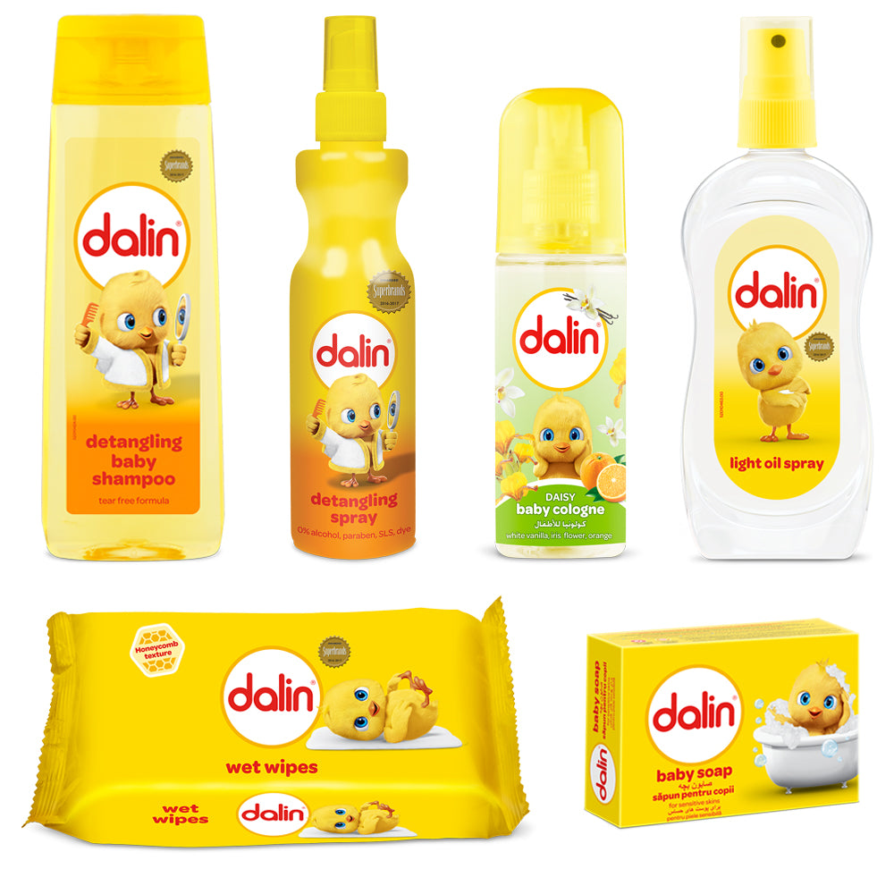 Dalin Baby Care | 6 Pieces Gift Set