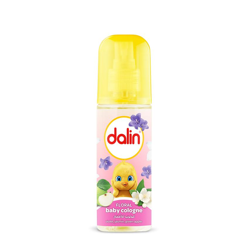 Dalin Baby Cologne (Original Smell & Floral) - 2 Pack