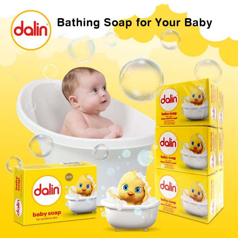 Dalin Classic Soap (pack of 6) 100gr