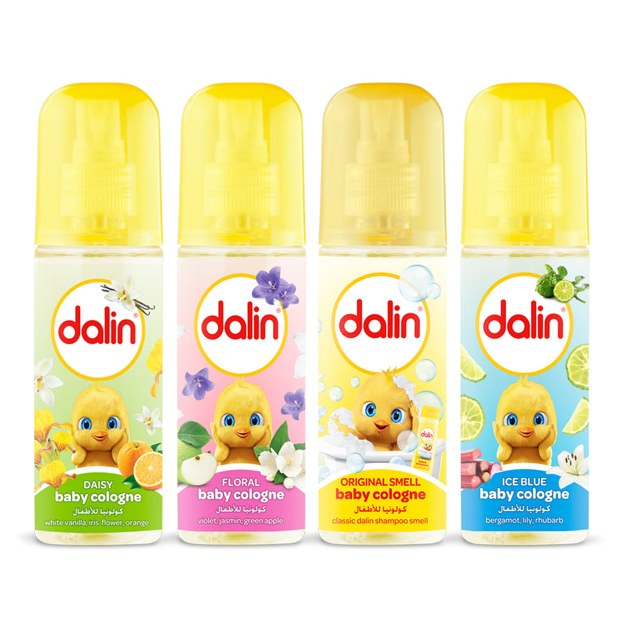 Dalin Baby Cologne - 4 Pack