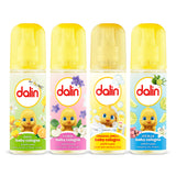 Dalin Baby Cologne - 4 Pack with Free Kids Mask