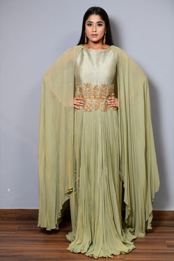 Floor Length Anarkali - Saisha