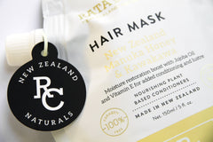 Hair Mask with New Zealand Manuka Honey & Kawakawa