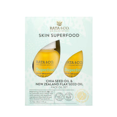 Skin Superfood - Chia Seed Oil & New Zealand Flaxseed Oil Face Oil Set