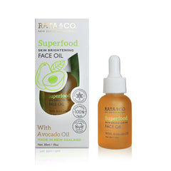 Superfood Skin Brightening Face Oil With Avocado Oil
