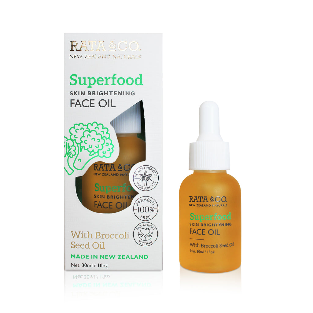 Superfood Skin Brightening Face Oil With Broccoli Seed Oil