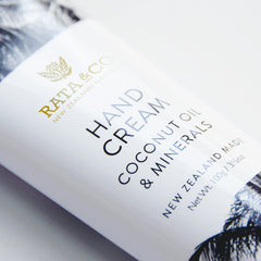 Hand Cream with Coconut Oil & Minerals