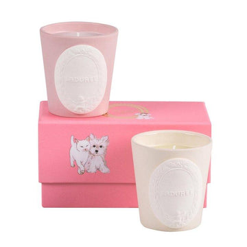 LADUREE Douceur & Camomile Mini Candles Duo | Candles and Fragrances | Deko International