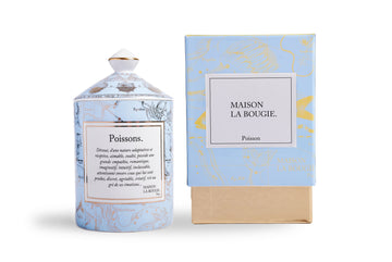MAISON LA BOUGIE Poisson 300g Candle | Candles and Fragrances | Deko International