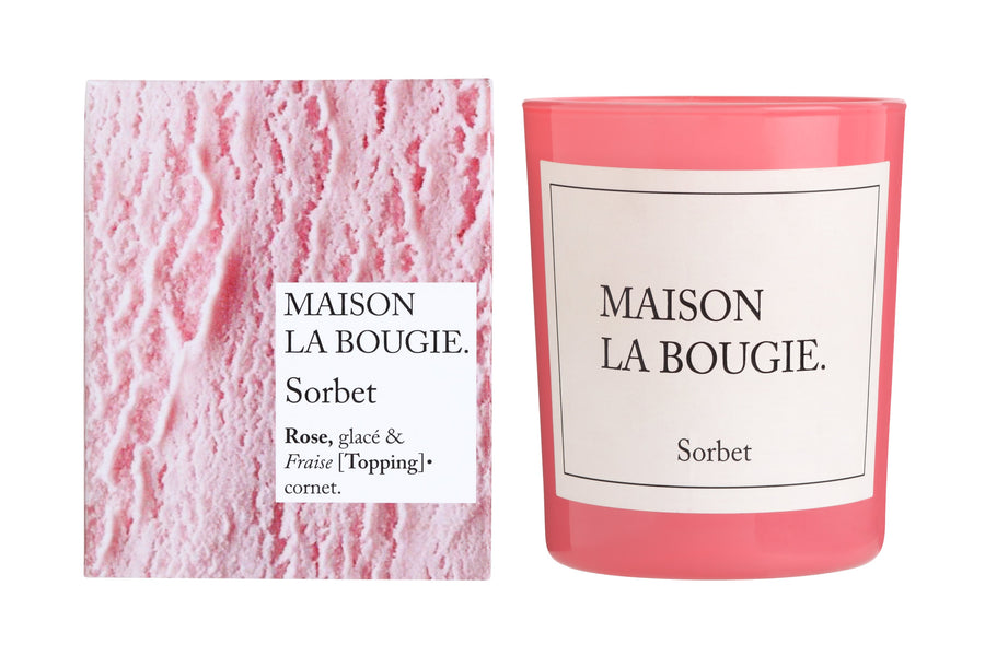 MAISON LA BOUGIE Sorbet 190g Candle | Candles and Fragrances | Deko International