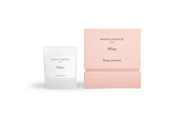 MAISON LA BOUGIE Ame White 200g Candle | Candles and Fragrances | Deko International