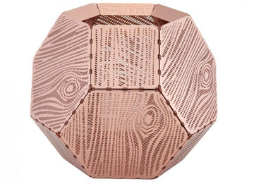 TOM DIXON Etch Tea Light Holder Copper Wood