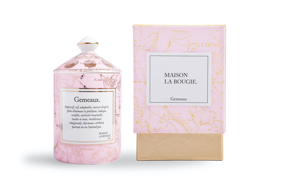 MAISON LA BOUGIE Gemeaux 300g Candle | Candles and Fragrances | Deko International