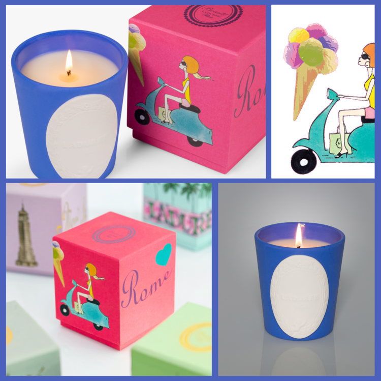 LADUREE Rome Candle | Candles and Fragrances | Deko International