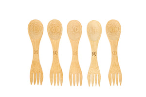 {ZERO} Waste Kit Bamboo Spork