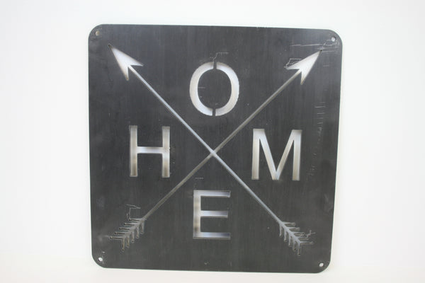 HOME ARROWS SIGN