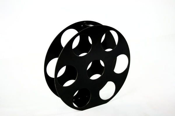 HOLLYWOOD MOVIE REEL WINE RACK