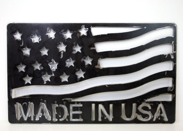 MADE IN USA WALL MOUNT FLAG