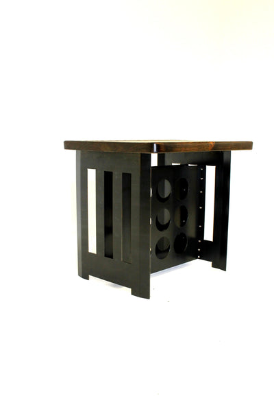 MOSSY OAK RACKLEY WINE RACK TABLE