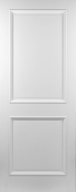 Seadec White Primed Kingston 2 Panel Door