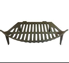 18IN FIRE BASKET - FIRE GRATE ( ROUND FRONT )