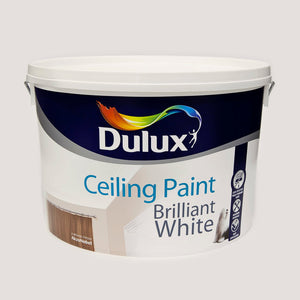 Dulux Ceiling Paint Pure Brilliant White 10L