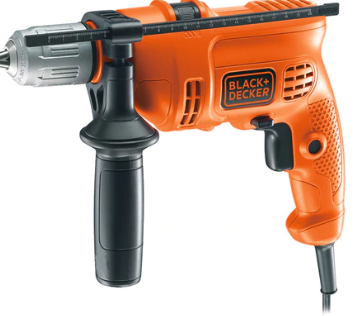 BLACK & DECKER 500W/ 13MM HAMMER DRILL