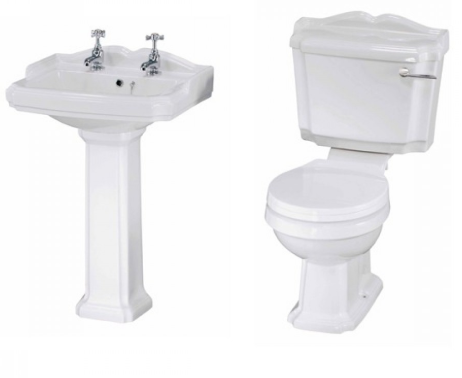 LEGEND 4 PIECE TRADITIONAL BATHROOM SUITE