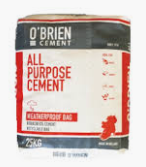 25KG O'Brien Cement