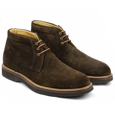 Chukka Boot's Daim Marron-Chaussures-Norbert Bottier