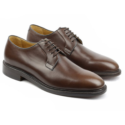 Graham Cuir Marron-Chaussures-Norbert Bottier