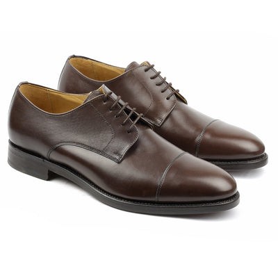 Harry Cuir Marron-Chaussures-Norbert Bottier