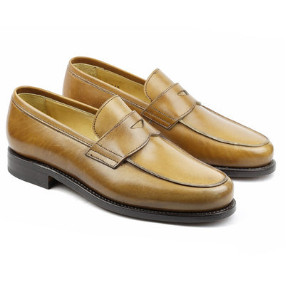 Harvard Cuir Gold-Chaussures-Norbert Bottier