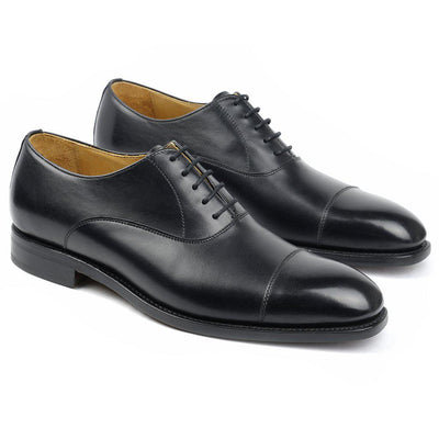 Richmond Cuir Noir-Chaussures-Norbert Bottier
