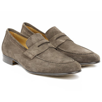 Roma Daim Marron-Chaussures-Norbert Bottier