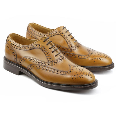 Sheffield Cuir Gold-Chaussures-Norbert Bottier