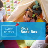 Your favourite book subscription box has a surprise for your kids- We just launched our Kids book box!!!