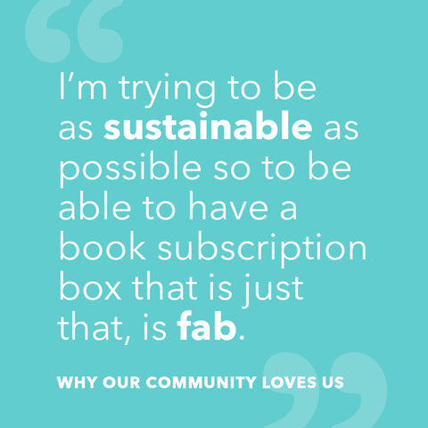Sustainable book subscription