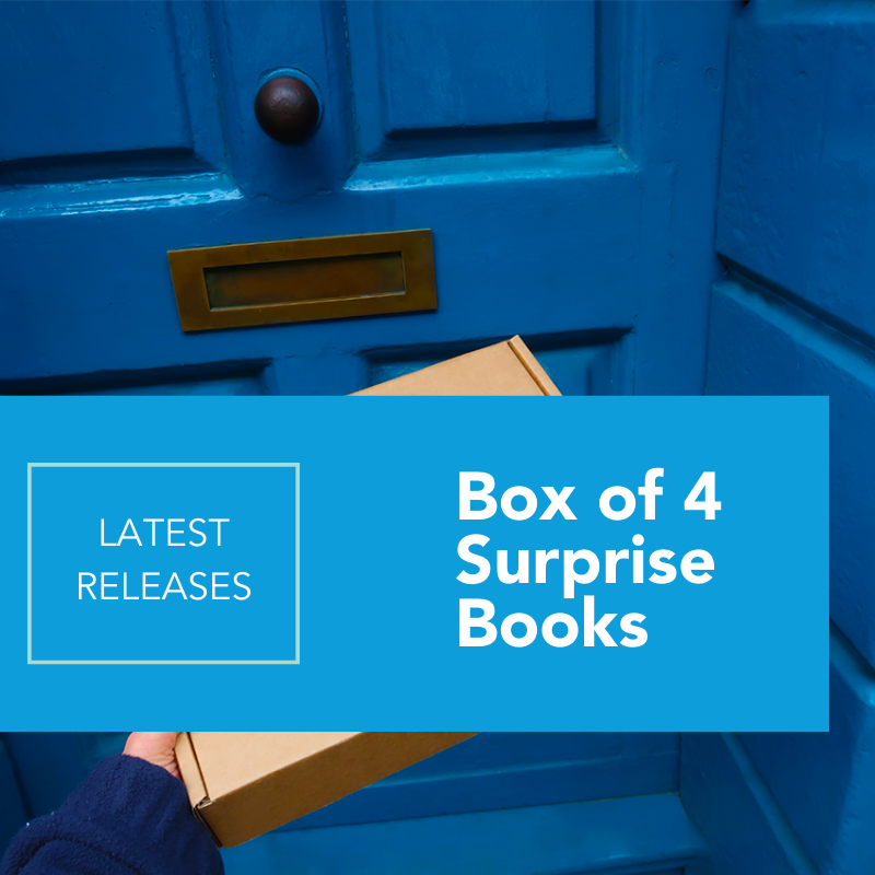 Latest Releases Box of 4 Surprise Books