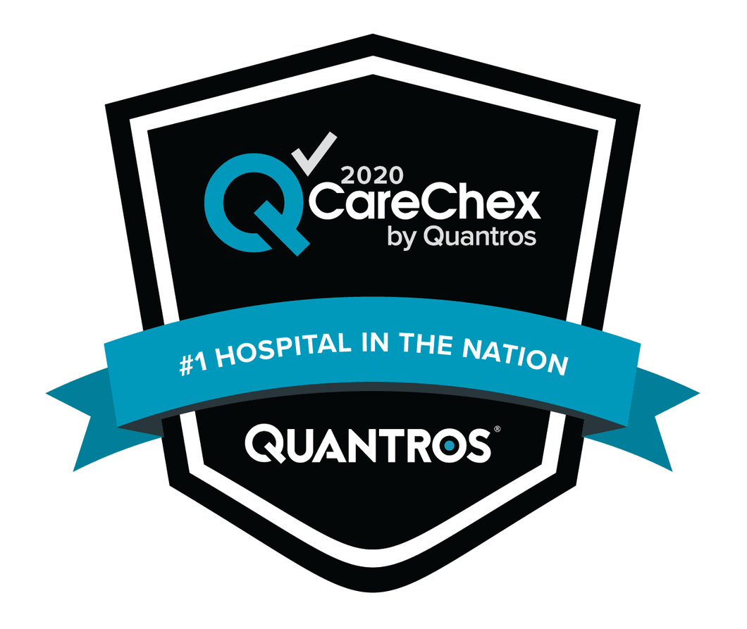 #1 Hospital in the Nation - Patient Safety 2019