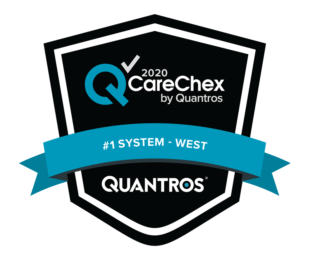 #1 System in the West - Patient Safety