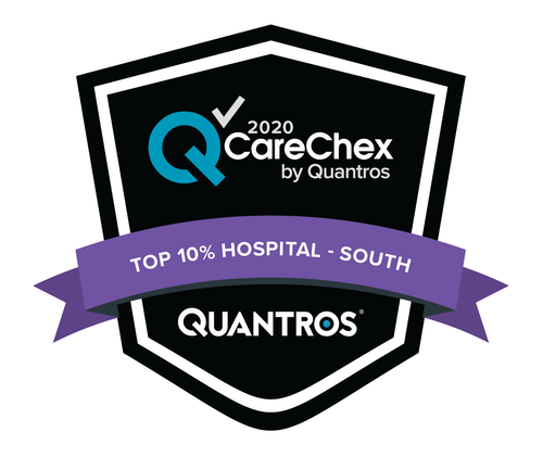 Top 10% Hospital in the South - Medical Excellence