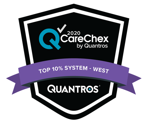 Top 10% System in the West - Medical Excellence