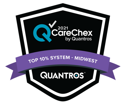 Top 10% System in the Midwest - Medical Excellence