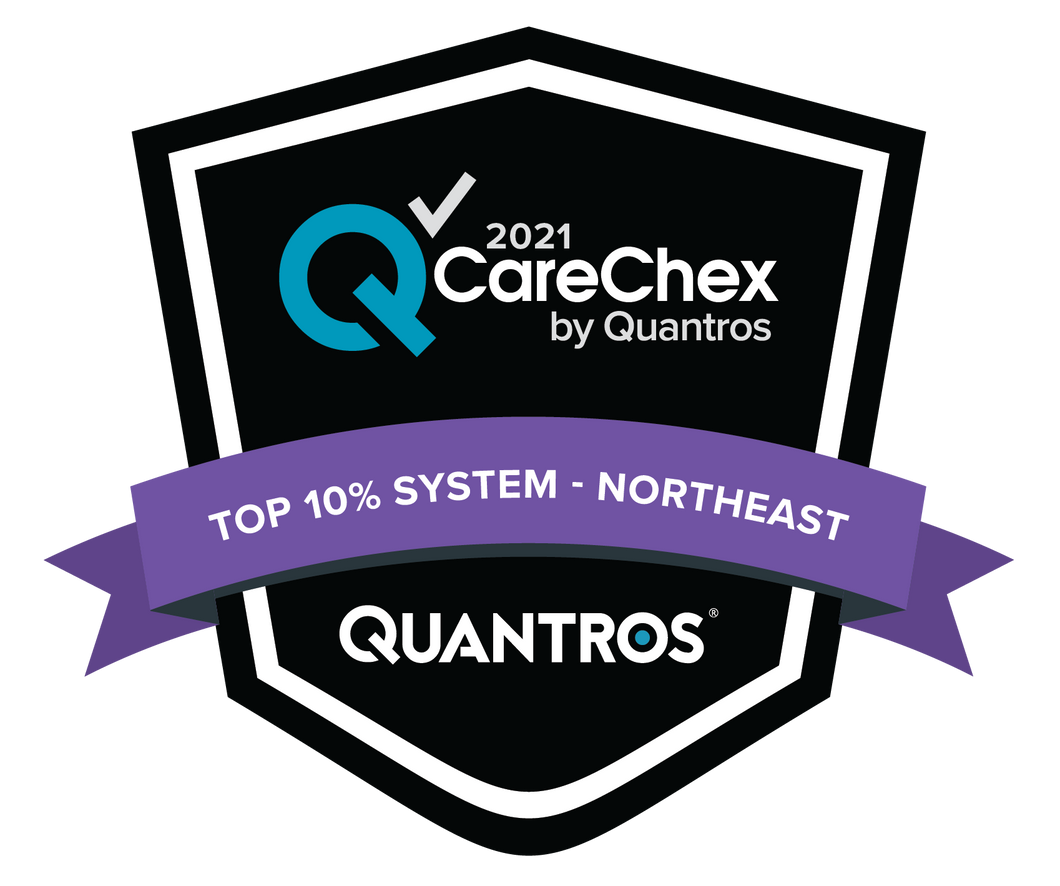 Top 10% System in the Northeast - Medical Excellence