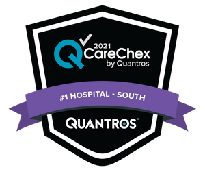 #1 Hospital in the South - Medical Excellence