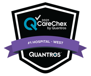 #1 Hospital in the West - Medical Excellence