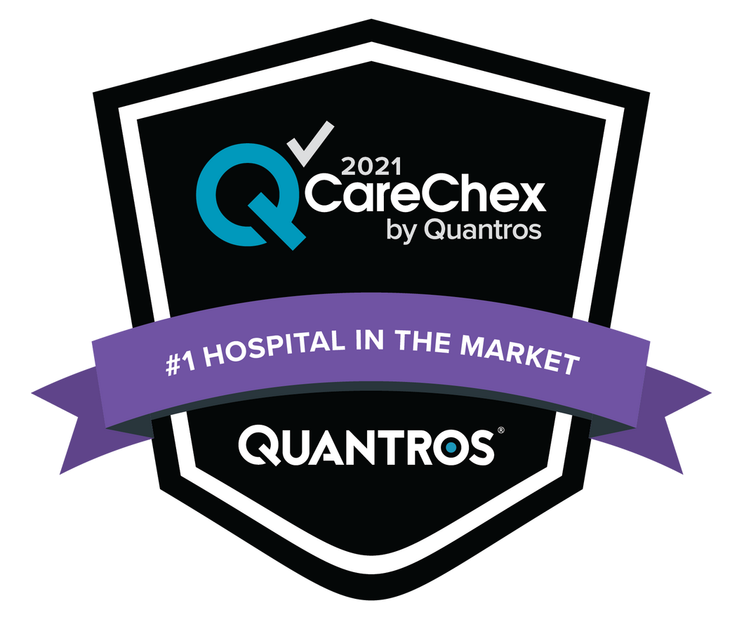 #1 Hospital in the Market - Medical Excellence