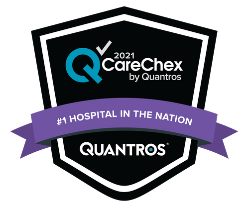 #1 Hospital in the Nation - Medical Excellence