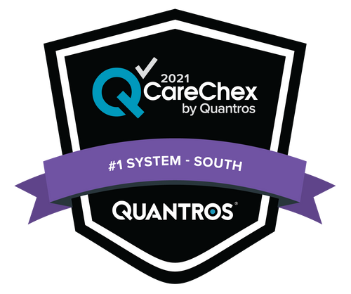 #1 System in the South - Medical Excellence